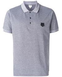 349e64fa Lyst - Kenzo 'mini Tiger' Polo Shirt in Black for Men