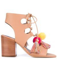 Rebecca Minkoff | 'calissa' Heeled Sandal | Lyst