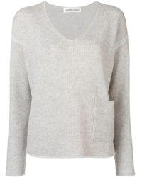 Lamberto Losani - Long-sleeve Fitted Sweater - Lyst