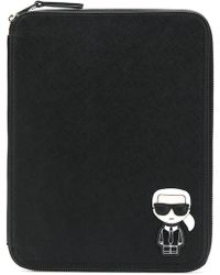 Karl Lagerfeld - Ikonik Ipad Organizer - Lyst