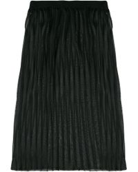Dondup - Layered Pleated Skirt - Lyst