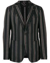 Tagliatore - Striped Blazer - Lyst