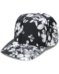 Givenchy - Floral Print Cap - Lyst