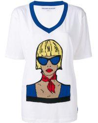 Ermanno Scervino - Graphic Print T-shirt - Lyst