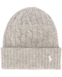 Polo Ralph Lauren - Cable Knit Beanie - Lyst