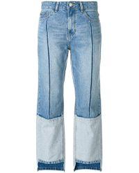 SJYP - Jeans 'ton On Ton' Modello Boyfriend - Lyst