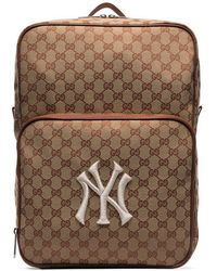 427065e311f3d3 Gucci Flora Snake Print Backpack in Green for Men - Lyst