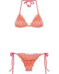 Brigitte Bardot - Tricot Bikini Set - Lyst