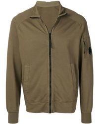 C P Company - Zip Up Sweatshirt - Lyst