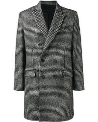 AMI Lined Double Breasted Coat