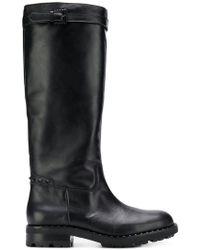 Ash - Wampas Black Gun Studs Boots - Lyst