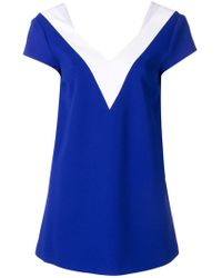 Capucci - Bow Detail Blouse - Lyst