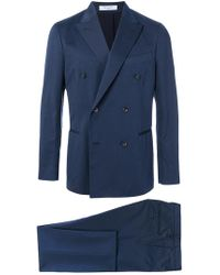 Boglioli - Double Breasted Formal Suit - Lyst