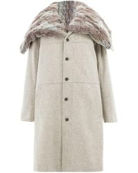 Y. Project - Single-breasted Coat - Lyst