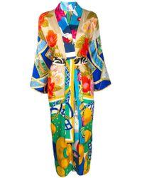 Rianna + Nina - Wrap Kimono Dress - Lyst