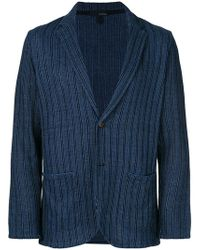 Lardini - Striped Blazer - Lyst