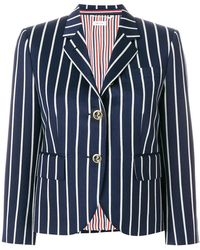 Thom Browne - Striped Blazer - Lyst