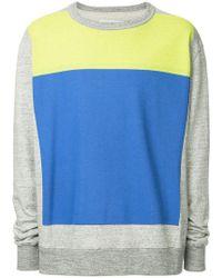 Facetasm - Colour Block Sweatshirt - Lyst