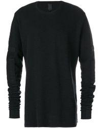 Thom Krom - Patch Detail Sweatshirt - Lyst