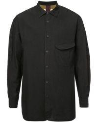 Ziggy Chen - Oversized Button Shirt - Lyst