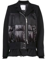 Sacai - Contrast Style Jacket - Lyst