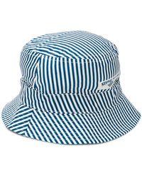 Stone Island - Striped Sun Hat - Lyst