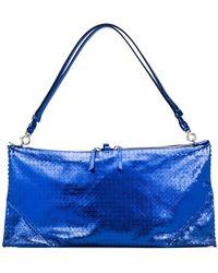 Maison Margiela - Rectangular Textured Shoulder Bag - Lyst