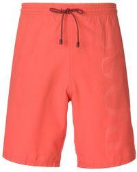 BOSS - Brand Embossed Swimming Shorts - Lyst