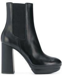 Hogan - Slip-on High Heel Boots - Lyst