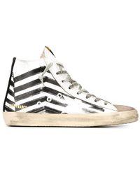 Golden Goose Deluxe Brand - 'francy' Hi-top Sneakers - Lyst