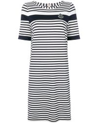 Marc Cain - Striped T-shirt Dress - Lyst