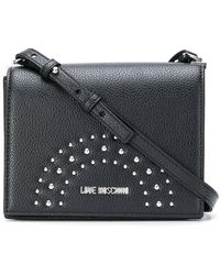 Love Moschino - Studded Shoulder Bag - Lyst