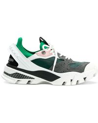 CALVIN KLEIN 205W39NYC - Nappa Paneled Sneakers - Lyst