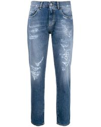 Pinko - Lupin straight-leg jeans - Lyst