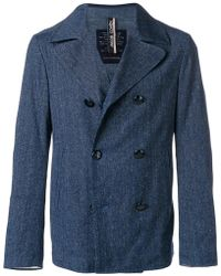 Jacob Cohen - Double Breasted Jacket - Lyst