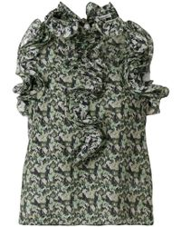 Manoush | Floral Camouflage Blouse | Lyst
