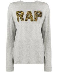 6397 - Rap Slogan Sweater - Lyst