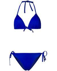EA7 - Logo Print Bikini - Lyst