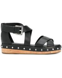 MICHAEL Michael Kors - Darby Flatform Sandals - Lyst