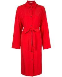 Nehera - Belted Shirt Dress - Lyst