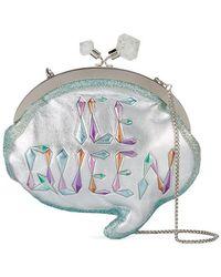 Sophia Webster - Ice Queen Speech Bubble Clutch Bag - Lyst