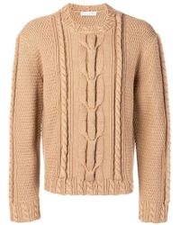 JW Anderson - Cable Knit Jumper - Lyst