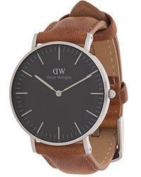 Daniel Wellington - Classic Black Durham Watch - Lyst