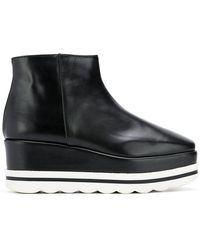 Pollini - Wedge Ankle Boots - Lyst