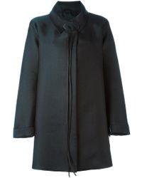 Giorgio Armani - A-line Coat - Lyst