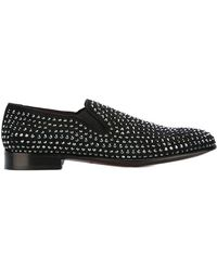 Dolce & Gabbana - Studded Loafers - Lyst