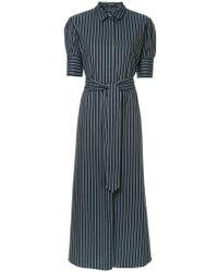 White Story - Antonia Striped Maxi Shirt Dress - Lyst
