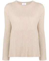 Allude - Ribbed Knit Top - Lyst