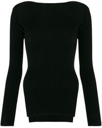 Alexander Wang リブニット セーター - ブラック
