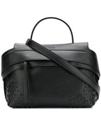 Tod's - Gommini Studded Tote Bag - Lyst